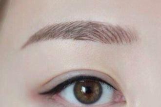 疤痕体质可以绣眉毛吗